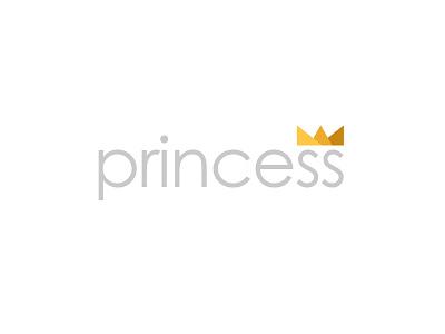 Princess grey soft yellows crown