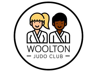 Woolton Judo Club martial arts logo judo