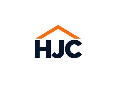 HJC logotype house orange logo