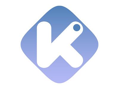 Big K logotype logo design project brand client