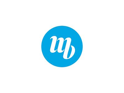 MB Logo monogram initials lettermark mb personal brand branding