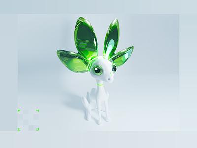 Mascot for Nvidia Studio Challenge
