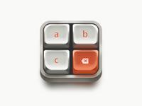 Retro keyboard Icon