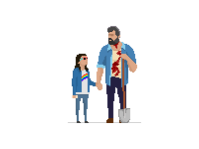 Logan 3 marvel character wolverine logan pixel art