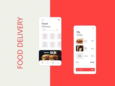 Food vector graphic design art web ui design branding app