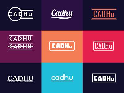 cadhu logo concepts branding logos