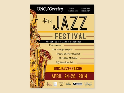 Jazz Fest Letter Size Flyer greeley print layout flyer