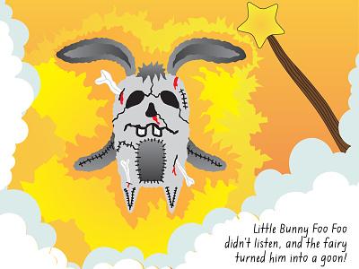 Goon Foo Foo childrens books bunny illustration