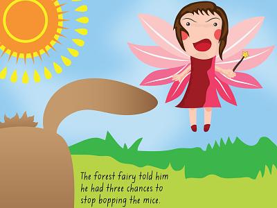 3 chances illustration childrens book