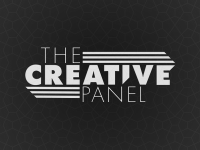 Creative Panel Idea 2 simple black futura line