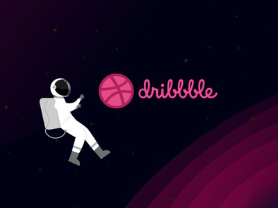 Hello, Hola, 你好, مرحبا, Bonjour, Ciao Dribbble !!! web mobile space dribbble ui  ux hello illustration astronaut first new design debut