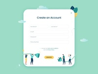 Sign Up | Daily UI Challenge