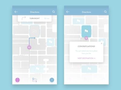 Location Tracker | Daily UI Challenge