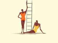 Babes Ladder