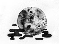 Inktober Moon