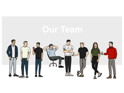 Son of a Tailor team x1 t-shirt workplace illustration character colleague humans hr tailor company team