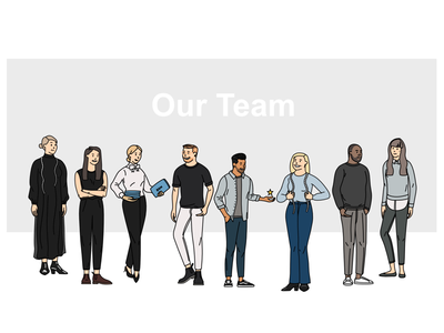 Son of a Tailor team x2 t-shirt workplace team tailor illustration humans hr company colleague character