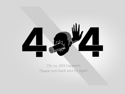 404 page face illustration not found error page web portfolio 404