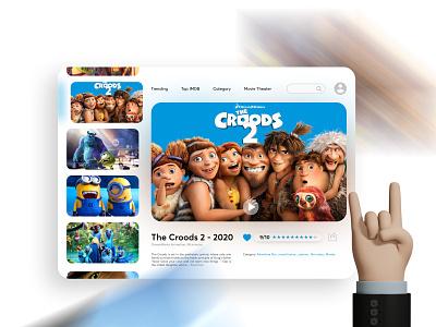 Film Application Concept web app graphic design ux design film