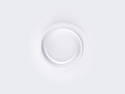 Minimalistic loader simplicity minimalistic minimal simple white illustration ux ui motion animation loader animation skeuomorphic round sphere circle loading loader