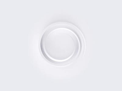 Minimalistic loader simplicity minimalistic minimal simple white illustration ux ui motion animation loader animation skeuomorphic round sphere circle loading loader