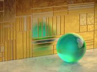 Procedural physics movement sphere illustration c4d 3d motion animation math changing texture procedural wall ball move moving movement physics