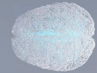 Kernel.Co Brain visual brainstorming future innovation brand branding illustration 3d animation motion ui visual art abstract health science neural visual kernel brain