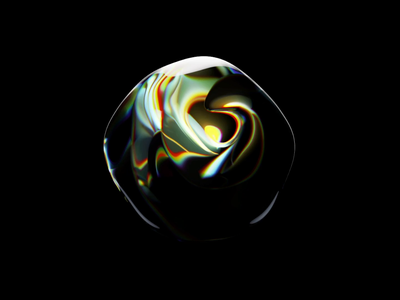 Art project for fashion brand liquid glassy abstract abstraction fashion illustration rendering glass graphic design generativeart artist biennale luxury fashion illustration c4d 3d animation motion generative art generative