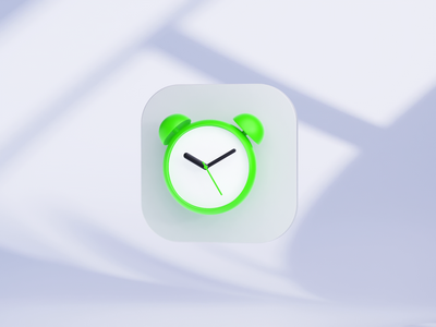 Alarm 3D icon for Smart Market big sur os x os operating system artificial intelligence iconset alarm app icon icons c4d 3d motion ui alarm clock alarmclock watch alarm