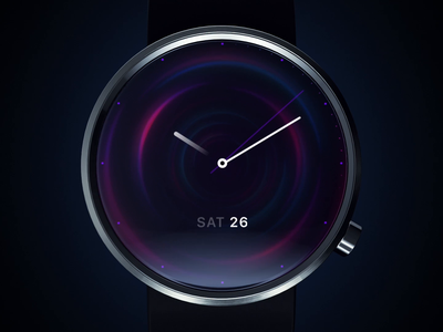 Night watch face design watchos operating system animation 2d ui motion night club night mode watch clock arrow intro screen branding lifestyle brand lifestyle nightlife nightclub background animation intro night