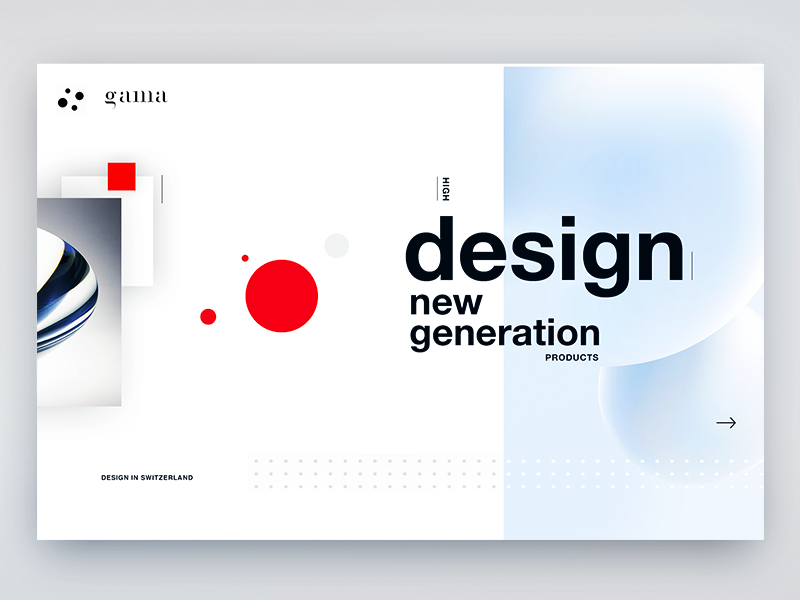 Swiss design  UI discovery process by gleb