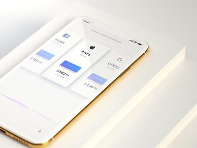Human computer interaction UI assistant ai app iphonex ios ux white clean simple wave ui voice