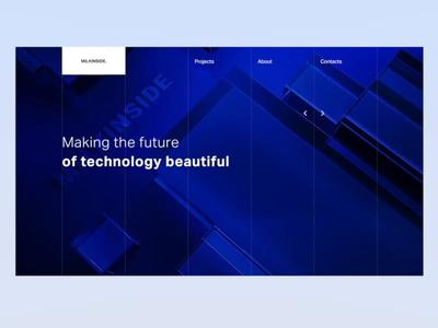 Milkinside web site design