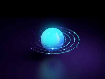Loading for digital product visual art form visual  identity branding c4d ae circle 3d aep ios animation motion macro micro micro animation simple icons connection globe live visual