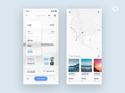 Travel tickets simple UI white maps ux natural product design travel agent icons button ios app booking book travel simplicity simple air plane aircraft ui
