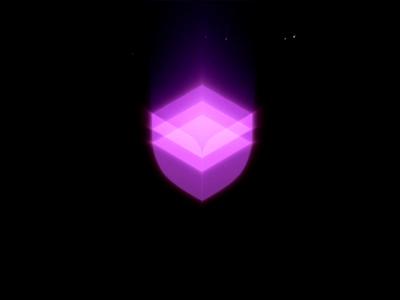 Logotype for security product logo splash dark futuristic animation motion futurism glow lights logotype logodesign logos illustration vector branding illustrator icon