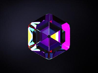 Diamond visual experiment illustration c4d ai aep 3d ux motion diamonds art visual art animation visual diamond