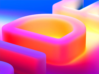 Branding video for milkinside design art c4d animation brand typeface typogaphy 3d landing home background website simplicity motion video colorful color luxury butique design milkinside