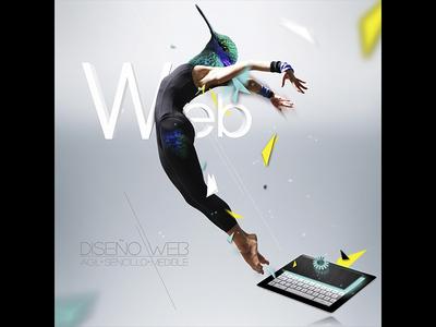 Agil - Sencillo - Medible bird fly jump dancer paper web sencillo agil medible colibri green turquoise turquesa amarillo