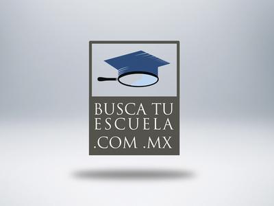 Busca Tu Escuela .com.mx college university universidad logo bachillerato high school mexico preparatoria escuela school blue gray