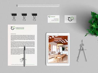 Construcción Consciente bio consciente cc branding construcción architecture