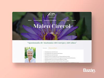Diafreo Malen Cirerol web nature terapia therapy spiritual masaje diafreo