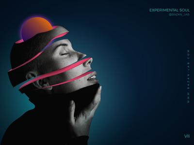 Experimental Soul inspiration graphic graphicdesign contemporaryart glitchart glitch future 3d design