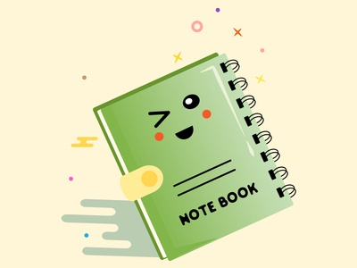 Green Note Book