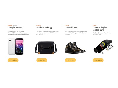 eCommerce Grid ecommerce grid products