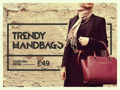 Handbag purchase ecom banner trend image art graphic hangbag