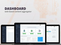 Dashboard - web based content aggregator