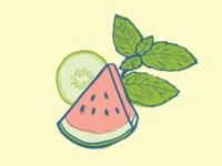 Watermelon Cucumber Mint