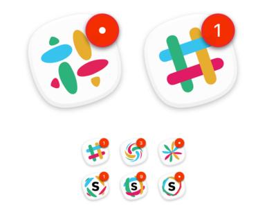Personal Slack icons icon slack