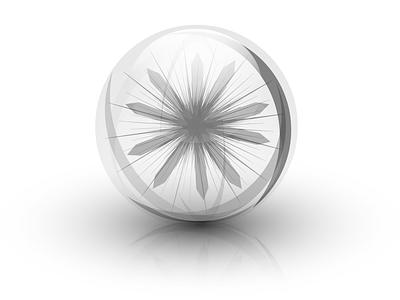 Glass ball vector sphere glass